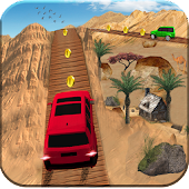 Impossible Cross The Bridge Jeep Driving Game 2018