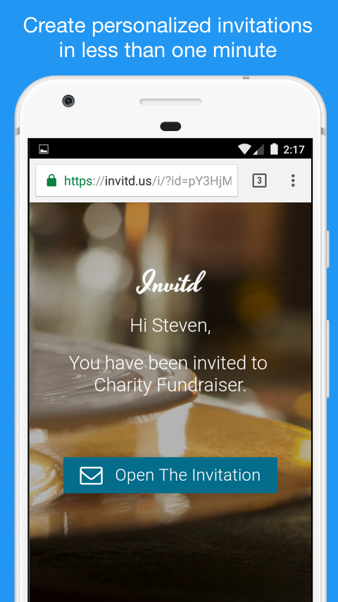 Invitd Invitations By Text Android Apps On Google Play