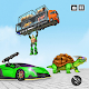 Turtle Super Robot Car Transform Shooting Game Download on Windows