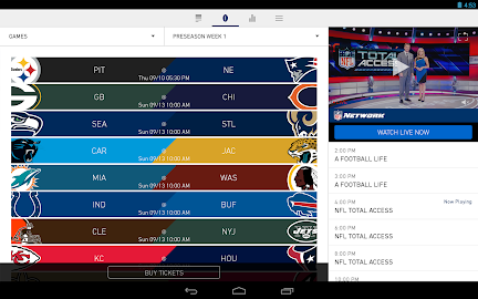 NFL Mobile Screenshot 2