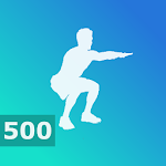 500 Squats - Leg Workouts, Home Fitness for Men 2.6.2