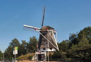 Photo: es gibt ja doch Mühlen in Holland, hier Molenzicht