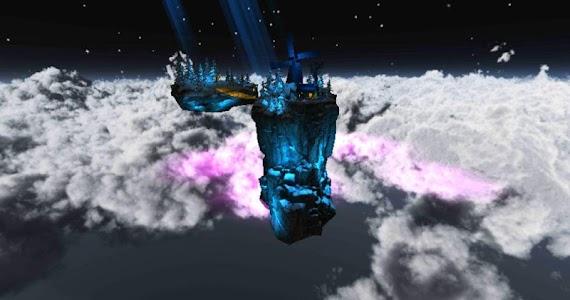 Floating Island Parallax LWP screenshot 8