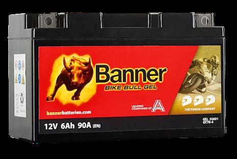 Banner Bike Bull GEL GT7B-4 12V 6Ah