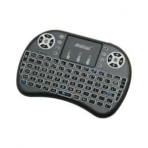 Mini tastatura Wireless, iluminata in 3 culori, Andowl Q-K03