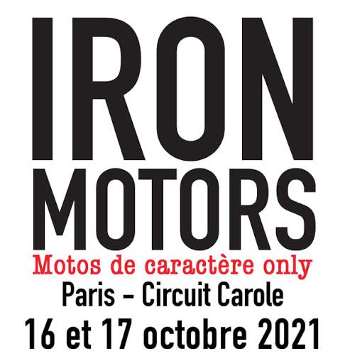 L'affiche Iron Motors 2021