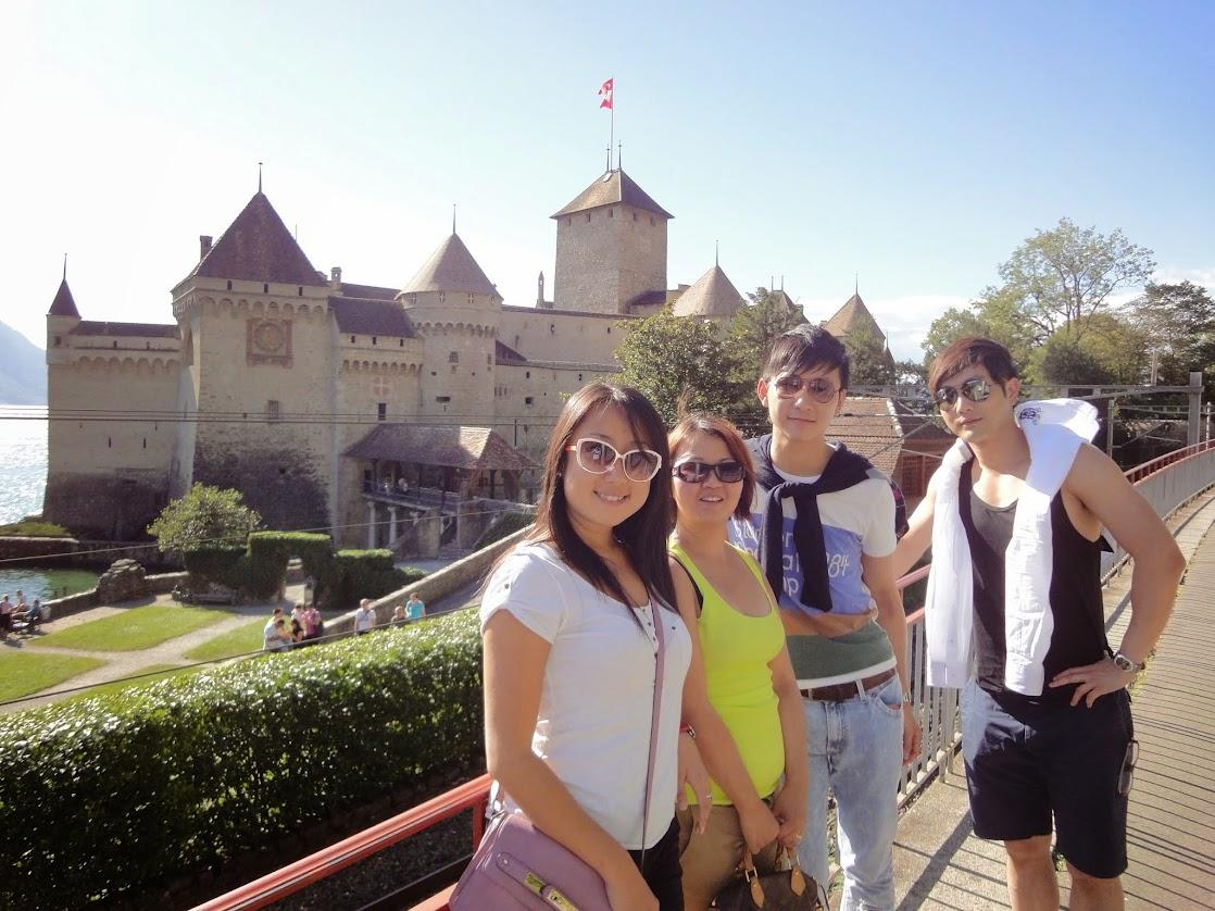 Chinois au Château de Chillon