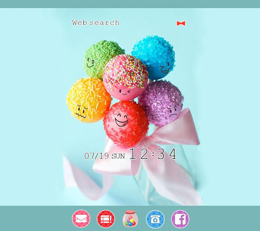 Cute Theme-Colorful Candy-