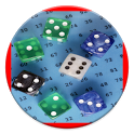 Perfect Random Number & Dice generator with speech icon