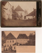 Photo: Undatierte Fotografie und Postkarte.
