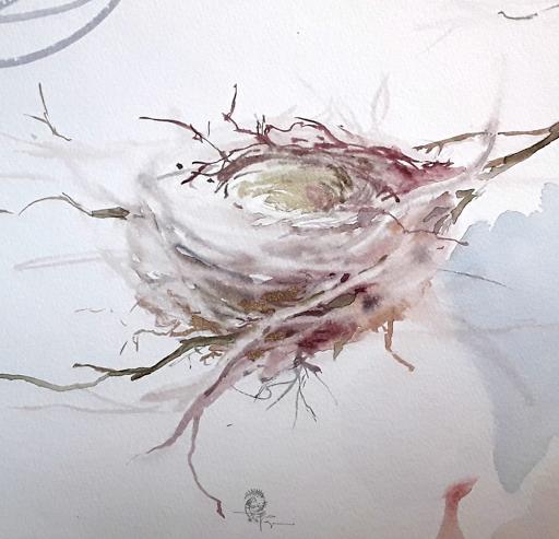 stages aquarelle animalière cours aquarelle jeanne PAPA fontainebleau veneux les sablons 77