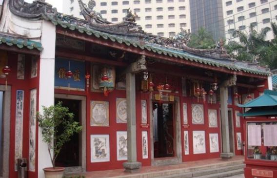 Antigo Templo Chines de Johor Bahru