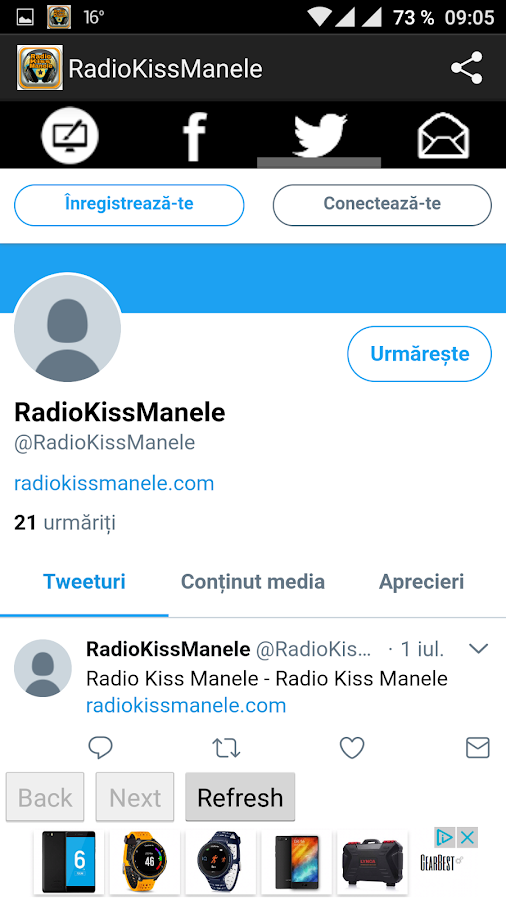 RadioKissManele- screenshot