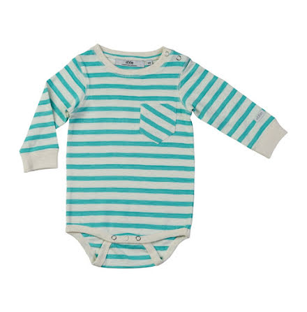 Lois - Striped bodystocking for baby