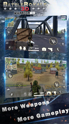 Battle Royale 3D - Warrior63 1.0.7.2 screenshots 3