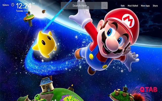 Mario Wallpapers HD Theme