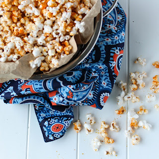 "Savory ""Cheesy"" Popcorn"