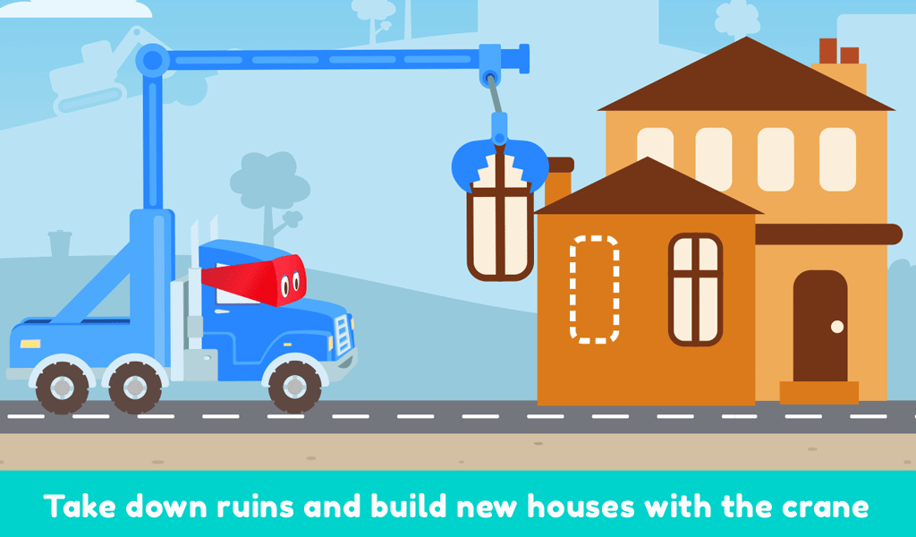 Carl the Super Truck Roadworks: Dig, Drill & Build- screenshot