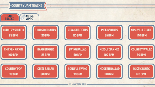 Download Country Guitar Jam Tracks on PC & Mac with AppKiwi APK