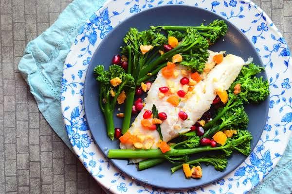 Sea Bass With Tenderstem Broccoli Recipe