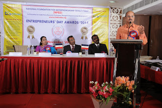 Photo: Special Address by Chief Guest Shri. A. Devi Dutt, Senior Manager, Indian Overseas Bank, Rathinapuri Branch, Coimabatore