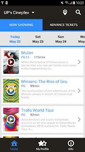UP's Cineplex for PC-Windows 7,8,10 and Mac apk screenshot 2