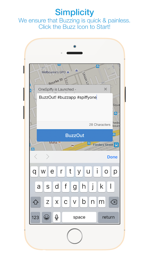 Buzz - Connect Locally- screenshot