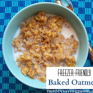 Freezer-Friendly Baked Oatmeal.