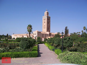 Photo: Koutoubia Mosque is also the tallest structure in Marrakech