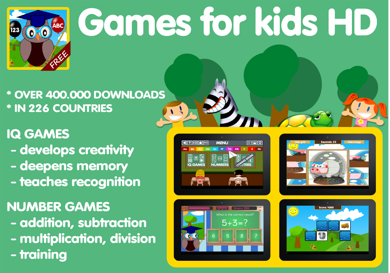 Games For Kids HD Pro- screenshot