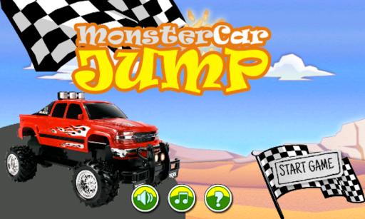 Monster Car Jump