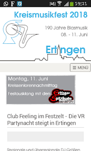 KMF 2018 - Die App- screenshot thumbnail