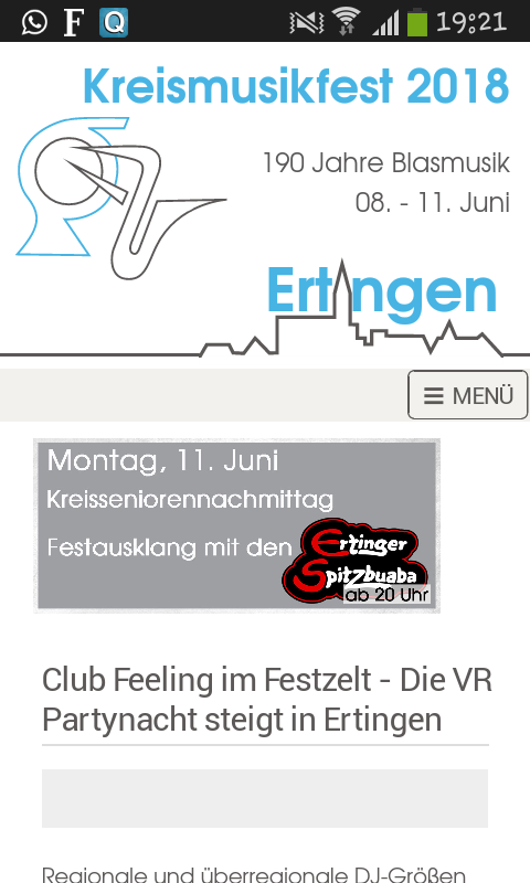 KMF 2018 - Die App- screenshot