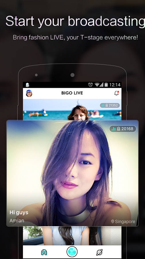 BIGO LIVE - Live Broadcasting- screenshot