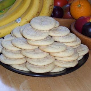Basic Plain Sugar Cookies