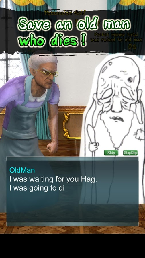 Home cooking of the hag- screenshot
