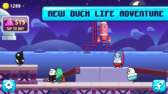 Duck Life: Space- screenshot thumbnail