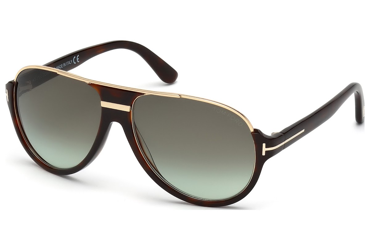 Tom Ford Herren Sonnenbrille »Dimitry FT0334«, braun, 56K - havana/braun