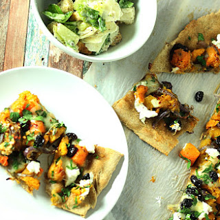 Caramelized Butternut Squash & Onion with Goat Cheese Pizza