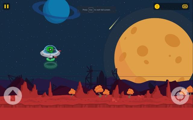UFO Raider Game