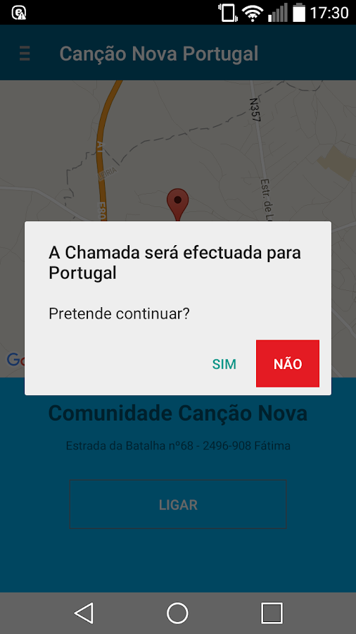 Canção Nova Portugal- screenshot