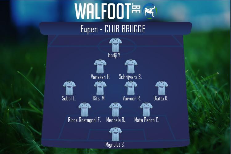 FC Bruges (Eupen - FC Bruges)