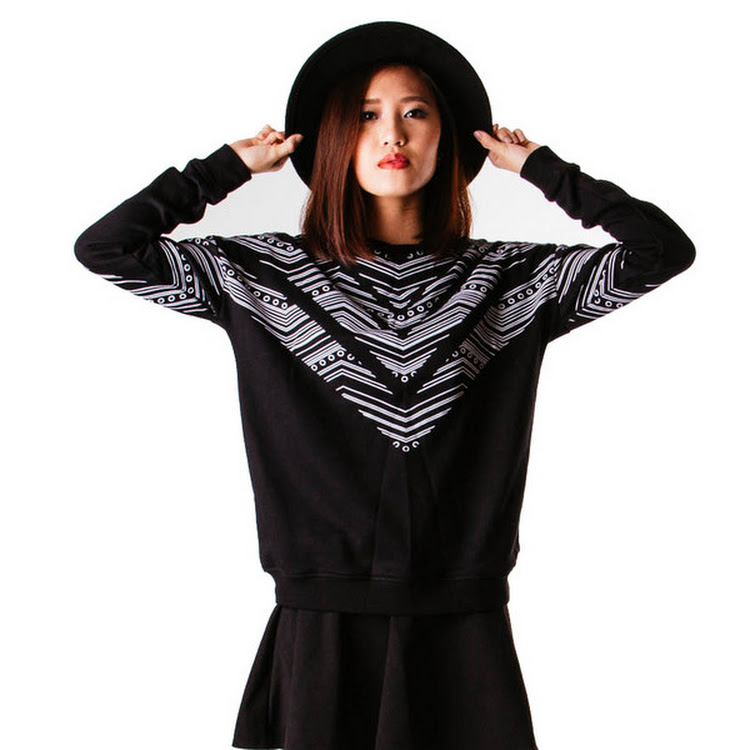 Chevy Sweater White by Meridian Street Sdn Bhd