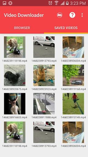 FVD: Video Downloader for Facebook 1.2.3 screenshots 4
