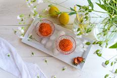 Strawberry Lemonade Sorbet