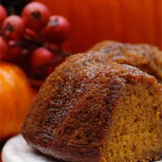 Gluten Free Spiced Pumpkin Bundt Cake