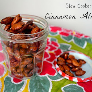 Cinnamon Spiced Almonds Gluten Free and Dairy Free.