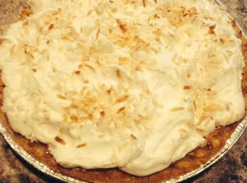 Johnny Ray's Coconut Cream Pie
