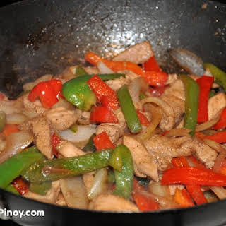 Chicken Stir Fry.