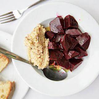 Pantzaria Me Skordalia (Roasted Beets with Garlic–Potato Spread) Recipe